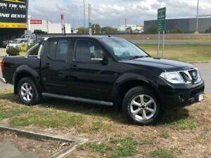 2013 Nissan Navara D40 MY12 ST (4x4) Black 6 Speed Manual Dual Cab Pick-up Eagle Farm Brisbane North East Preview