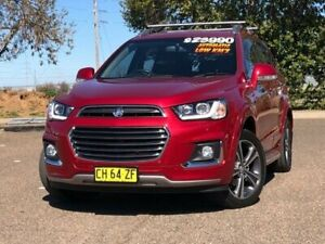 2016 Holden Captiva CG MY16 LTZ AWD Red 6 Speed Sports Automatic Wagon Hillvue Tamworth City Preview