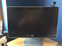 "HP 2010i Black 20"" 5ms Widescreen HD Ready LCD Monitor"
