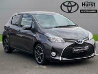 2016 Toyota Yaris 1.5 Hybrid Design 5Dr Cvt Auto Hatchback Hybrid Automatic