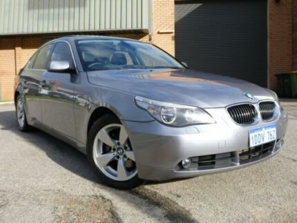 2007 BMW 530D E60 Professional Grey 6 Speed Automatic Sedan Alfred Cove Melville Area Preview