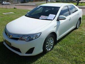 2012 Toyota Camry AVV50R Hybrid H Diamond White Continuous Variable Sedan Gateshead Lake Macquarie Area Preview
