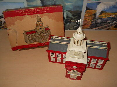 Plasticville American Flyer Independence Hall PH-1 OB VG+