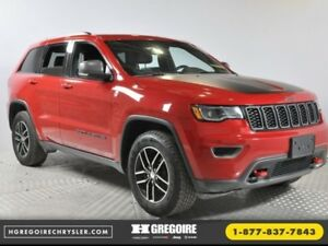 2017 Jeep Grand Cherokee Trailhawk GPS Double-Sunroof Cuir Demar