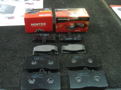 LEXUS LS430 2000-2006 MINTEX BRAKE PADS FRONT REAR COMPLETE SET