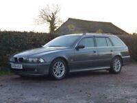 BMW 5 SERIES 2.5 525D SE TOURING 5d AUTO 161 BHP (grey) 2004