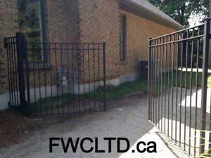 Custom Metal Railing, Gates,Install, Repair, Mobile Welding London Ontario image 8