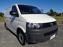 2012 Volkswagen Transporter T5 MY12 TDI340 White 7 Sports Automatic Dual Clutch Van Erina Gosford Area Preview