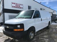 2008 Chevrolet Express Cargo Van, Shelving,  ONLY $355.44/month Red Deer Alberta Preview