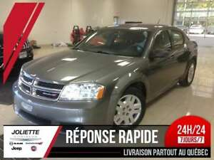 2013 Dodge Avenger SE, PLANS OR 5/100KM, AUTO, A/C, MAG
