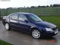 FORD MONDEO FROM 2002 TDCi WANTED