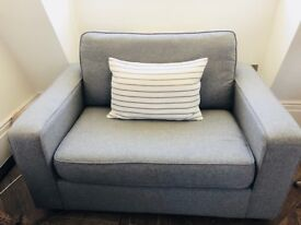 Sofa Bed Snuggler Chair
