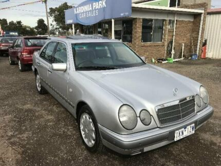 1999 Mercedes-Benz E320 W210 Elegance Silver 5 Speed Automatic Sedan South Geelong Geelong City Preview