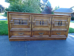 Wanted large wooden dressers London Ontario image 3