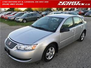 2007 Saturn Ion Sedan Ion.2 ** ONLY 47,000KM** A/C! New Battery!