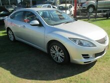 2008 Mazda 6 GH1051 Classic Silver 5 Speed Sports Automatic Hatchback Kippa-ring Redcliffe Area Preview