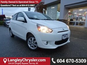 2014 Mitsubishi Mirage SE *ACCIDENT FREE * LOCAL BC CAR *