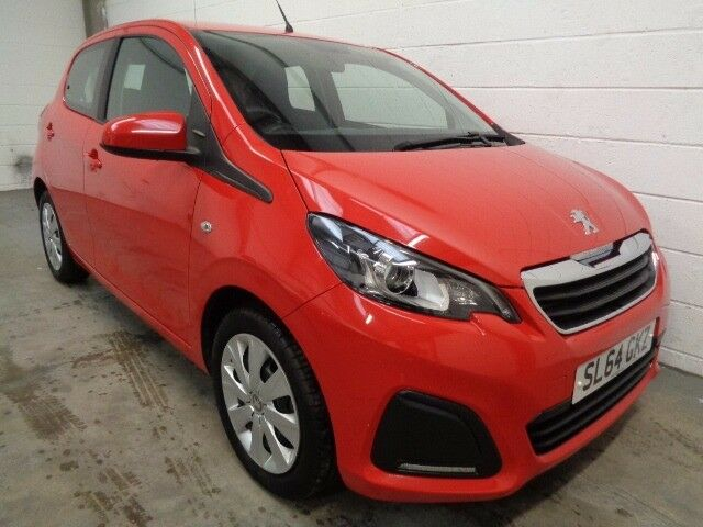 peugeot 108 automatic 2014 64 reg free road tax only 3000 miles years mot finance. Black Bedroom Furniture Sets. Home Design Ideas