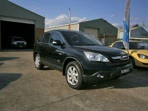 2008 Honda CR-V MY07 (4x4) Luxury Black 5 Speed Automatic Wagon South Windsor Hawkesbury Area Preview