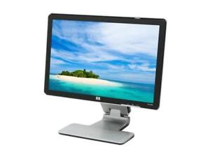 "HP w2207 monitor, 22"",  with speakers"
