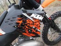 KTM 144 SX 2008 MX MOTOCROSS OFF ROAD BIKE