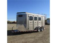New 2016 Calico Ranch King 17' Bumper Pull Horse Trailer