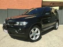 2005 BMW X5 E53 MY05 Steptronic Midnight Black 5 SPEED Semi Auto Wagon Southport Gold Coast City Preview