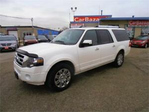 2013 Ford Expedition Max Limited 8 Passanger Lthr Roof NAV 4WD