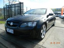 2006 Holden Commodore VE Omega Black Automatic Sedan Williamstown North Hobsons Bay Area Preview