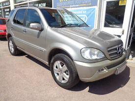 Mercedes-Benz ML270 4x4 2.7TD CDI auto Special Edition S/H P/X Swap