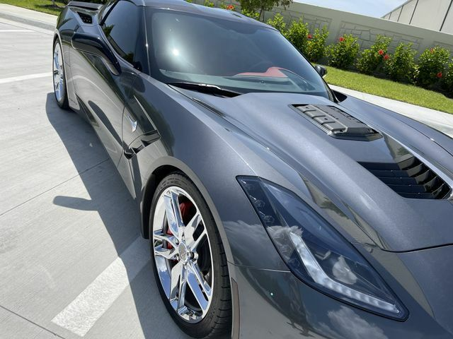 2014 Gray Chevrolet Corvette Stingray Z51   C7 Corvette Photo 4