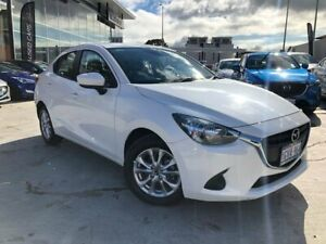 2018 Mazda 2 DL2SAA Maxx SKYACTIV-Drive White 6 Speed Sports Automatic Sedan Palmyra Melville Area Preview