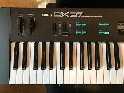 Yamaha 80's DX27 Digital FM Synthesizer