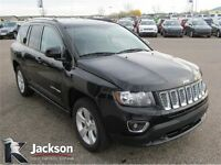 2015 Jeep Compass High Altitude 4WD- Leather, Sunroof!
