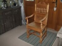 Wooden decorative chair(kings style)