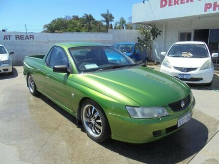 2003 Holden Ute VY S Green 4 Speed Automatic Utility