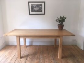 Gorgeous Large Oak Family Dining Table
