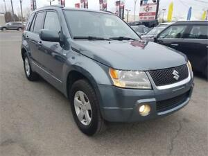 2008 Suzuki Grand Vitara JX, 4X4, MANUAL ** 1 AN DE GARANTIE **