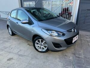 2014 Mazda 2 DE10Y2 MY14 Neo Sport Silver 4 Speed Automatic Hatchback Springwood Logan Area Preview