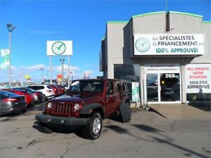2009 Jeep Wrangler Unlimited X a partir de 116.99$ + tx  semaine