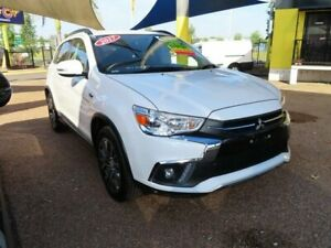2017 Mitsubishi ASX XC MY17 XLS 2WD White 6 Speed Constant Variable Wagon