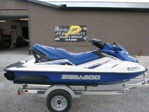 NEW MOTOR- 2002 SEADOO GTX-DI 951,SEA DOO - TAG 421