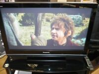 """Panasonic TH42PZ81 42"""" FULL HD TV with FREESAT. SECOND HAND, 6 MONTH WARRANTY."""