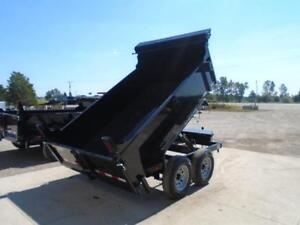 SAVE $300 - 5 TON HYDRAULIC DUMP TRAILER 6X10 BED - SALE PRICED London Ontario image 3