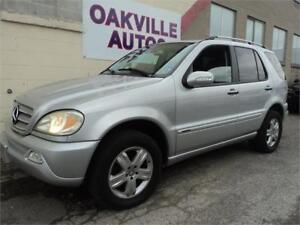 2005 Mercedes-Benz M-Class 3.7L Classic AWD SAFETY WARRANTY INCL