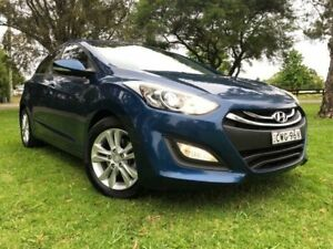 2014 Hyundai i30 GD MY14 SE Blue 6 Speed Automatic Hatchback Tuggerah Wyong Area Preview
