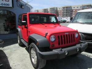 2013 Jeep Wrangler 4x4  LOW KMS COMING SOON!!