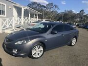 2009 Mazda 6 GH1051 MY09 Classic Grey 6 Speed Manual Hatchback Richmond Hawkesbury Area Preview
