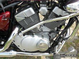 Virago 125 engine parts