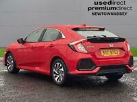 2018 Honda Civic 1.6 I-Dtec Se 5Dr Hatchback Diesel Manual